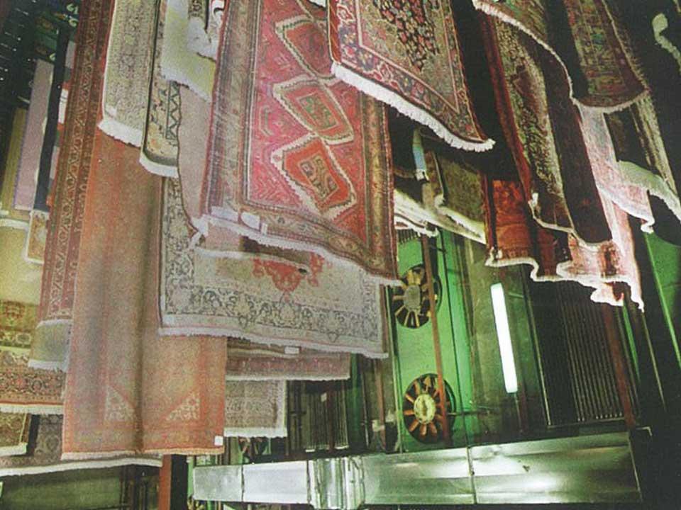 Asciugatura Lavaggio Tappeti Persiani Como