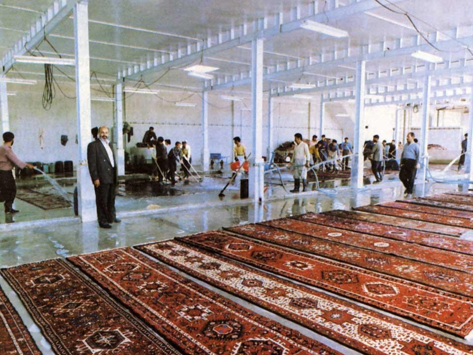 Organizzazione Persia Lavaggio Tappeti
