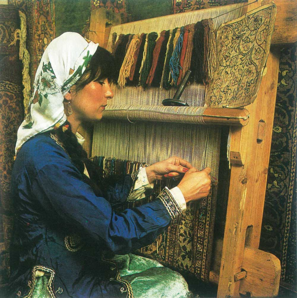 Restauro tappeti orientali persiani