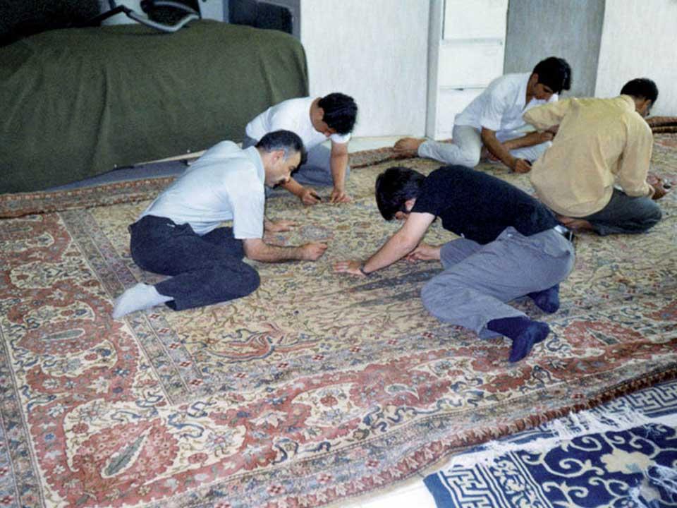 Smacchiatura Pulizia Tappeti Persiani