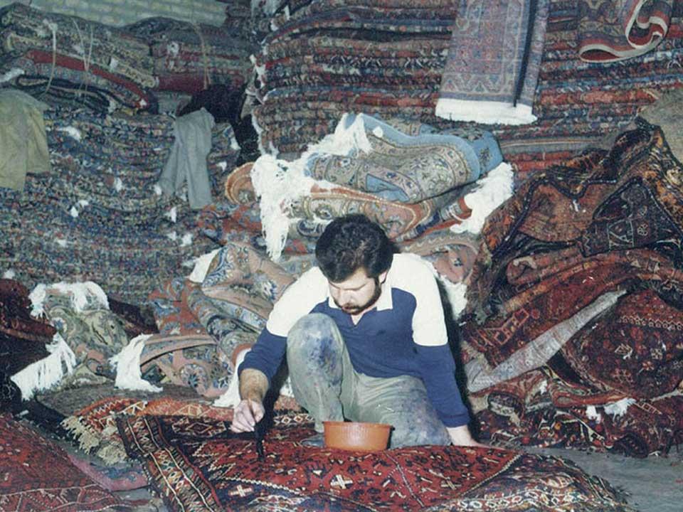 Smacchiatura e Pulizia Tappeti Persiani