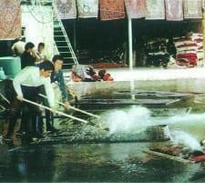lavaggio tappeti persiani tendaggi milano