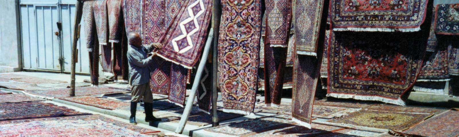 restauro tappeti persiani Como Lecco Monza