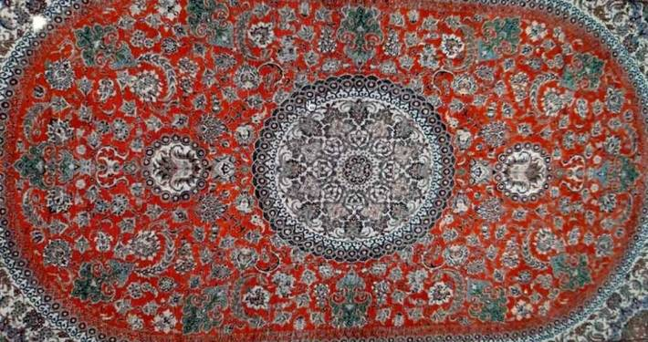 esposizione tappeti organizzazione persia